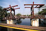 Oldest bridge in Jakarta, Batavia, Jakarta, Java, Indonesia, Southeast Asia                                                                                                                              Stock Photo - Premium Rights-Managed, Artist: Robert Harding Images    , Code: 841-03066795