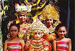 Portrait of Legong dancers, Bali, Indonesia, Southeast Asia, Asia                                                                                                                                        Stock Photo - Premium Rights-Managed, Artist: Robert Harding Images    , Code: 841-03067172