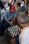 Checkers (drafts) in Santiago, Chile, South America                                                                                                                                                      Stock Photo - Premium Rights-Managed, Artist: Robert Harding Images    , Code: 841-03067195