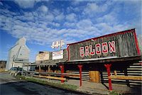 saloon - Saloon exterior, Reedpoint, Stillwater County, Montana, United States of America, North America                                                                                                          Stock Photo - Premium Rights-Managednull, Code: 841-03067615