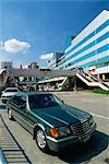 Mercedes car in Shenzhen City, the Special Economic Zone boom town on the border with Hong Kong, China, Asia                                                                                             Stock Photo - Premium Rights-Managed, Artist: Robert Harding Images    , Code: 841-03067639