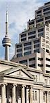 View of CN Tower and Buildings, Toronto, Ontario, Canada Stock Photo - Premium Rights-Managed, Artist: Andrew Kolb              , Code: 700-03068085