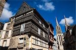 Quimper Cathedral, Quimper, Finistere, Brittany, France Stock Photo - Premium Rights-Managed, Artist: R. Ian Lloyd             , Code: 700-03068109