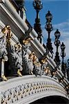 Pont Alexandre III, Paris, France Stock Photo - Premium Rights-Managed, Artist: R. Ian Lloyd             , Code: 700-03068365