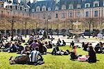 Place des Vosges, Le Marais, Paris, France Stock Photo - Premium Rights-Managed, Artist: R. Ian Lloyd             , Code: 700-03068449