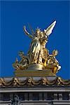 Statue on top of the Opera Garnier, Paris, France Stock Photo - Premium Rights-Managed, Artist: Graham French, Code: 700-03068466