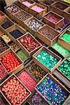 Beads on Display at Flea Market, Porte de Clignancourt, Marche aux Puces St-Ouen, Paris, France Stock Photo - Premium Rights-Managed, Artist: R. Ian Lloyd             , Code: 700-03068485