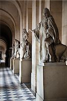 Statues, Colonnade, Palace of Versailles, Versailles, France Stock Photo - Premium Rights-Managednull, Code: 700-03068664