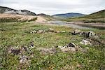 Inuit Archaeological Site at Soper and Livingstone Rivers, Katannilik Territorial Park Reserve, Baffin Island, Nunavut, Canada Stock Photo - Premium Royalty-Free, Artist: J. David Andrews         , Code: 600-03068796
