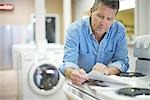 Appliance Store Owner Stock Photo - Premium Rights-Managed, Artist: Ron Fehling              , Code: 700-03068764