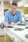 Appliance Store Owner Stock Photo - Premium Rights-Managed, Artist: Ron Fehling              , Code: 700-03068765