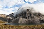 Talus Lake and Tombstone Range, Ogilvie Mountains, Tombstone Territorial Park, Yukon, Canada Stock Photo - Premium Rights-Managed, Artist: J. David Andrews         , Code: 700-03068778