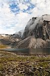 Talus Lake and Tombstone Range, Ogilvie Mountains, Tombstone Territorial Park, Yukon, Canada Stock Photo - Premium Rights-Managed, Artist: J. David Andrews         , Code: 700-03068779
