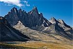 Tombstone Mountain, Tombstone Range, Ogilvie Mountains, Tombstone Territorial Park, Yukon, Canada Stock Photo - Premium Rights-Managed, Artist: J. David Andrews         , Code: 700-03068782