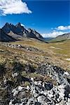 Tombstone Mountain, Tombstone Range, Ogilvie Mountains, Tombstone Territorial Park, Yukon, Canada Stock Photo - Premium Rights-Managed, Artist: J. David Andrews         , Code: 700-03068783