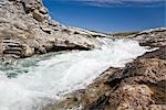 Soper Falls and Soper River, Katannilik Territorial Park Reserve, Baffin Island, Nunavut, Canada Stock Photo - Premium Royalty-Free, Artist: J. David Andrews         , Code: 600-03068805