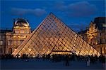 The Louvre, Paris, Ile de France, France Stock Photo - Premium Rights-Managed, Artist: R. Ian Lloyd             , Code: 700-03068869