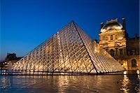 The Louvre, Paris, Ile de France, France Stock Photo - Premium Rights-Managednull, Code: 700-03068874