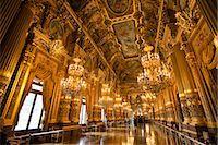 Garnier Opera, Paris, Ile de France, France Stock Photo - Premium Rights-Managednull, Code: 700-03068887