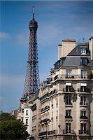 Eiffel Tower, Paris, Ile de France, France Stock Photo - Premium Rights-Managednull, Code: 700-03068953
