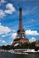 Eiffel Tower, Paris, Ile de France, France Stock Photo - Premium Rights-Managednull, Code: 700-03068956