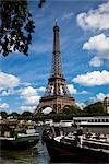 Eiffel Tower, Paris, Ile de France, France Stock Photo - Premium Rights-Managed, Artist: R. Ian Lloyd             , Code: 700-03068957