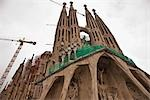 La Sagrada Familia, Barcelona, Catalonia, Spain Stock Photo - Premium Rights-Managed, Artist: Tomasz Rossa             , Code: 700-03069007