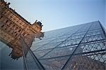 The Louvre Pyramid, Paris, France Stock Photo - Premium Rights-Managed, Artist: Tomasz Rossa             , Code: 700-03069048