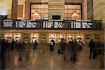 Ticket Counter at Grand Central Station, Manhattan, New York City, New York, USA                                                                                                                         Stock Photo - Premium Rights-Managed, Artist: Arian Camilleri          , Code: 700-03069094