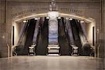 Escalators to the MetLife Building, Grand Central Station, New York City, New York, USA                                                                                                                  Stock Photo - Premium Rights-Managed, Artist: Arian Camilleri          , Code: 700-03069098