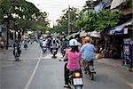 Motorcyclists in Ho Chi Minh City, Vietnam                                                                                                                                                               Stock Photo - Premium Rights-Managed, Artist: Pierre Arsenault         , Code: 700-03069434