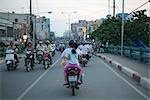 Motorcyclists in Ho Chi Minh City, Vietnam                                                                                                                                                               Stock Photo - Premium Rights-Managed, Artist: Pierre Arsenault         , Code: 700-03069435