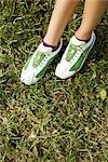 Low section view of a teenage girl wearing golf shoes,Biltmore Golf Course,Coral Gables,Florida,USA                                                                                                      Stock Photo - Premium Rights-Managed, Artist: Glowimages               , Code: 837-03070631