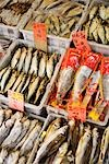 Dried Fish in Market, Chinatown, Vancouver, British Columbia, Canada Stock Photo - Premium Royalty-Free, Artist: Grant Harder             , Code: 600-03075419