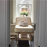 Massage Table in Treatment Room Stock Photo - Premium Rights-Managed, Artist: Natasha Nicholson        , Code: 700-03075405