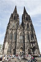 Cologne Cathedral, Cologne, North Rhine-Westphalia, Germany Stock Photo - Premium Rights-Managednull, Code: 700-03075504