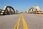 The Pony Bridge Over the Canadian River, Route 66, Oklahoma, USA Stock Photo - Premium Royalty-Free, Artist: Jeremy Woodhouse         , Code: 600-03075771