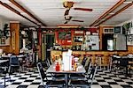 Interior of Whistle Stop Cafe, Decatur, Texas, USA                                                                                                                                                       Stock Photo - Premium Rights-Managed, Artist: Jeremy Woodhouse         , Code: 700-03075728