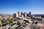 Skyline of Oklahoma City, Oklahoma, USA                                                                                                                                                                  Stock Photo - Premium Rights-Managed, Artist: Jeremy Woodhouse         , Code: 700-03075730