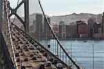 Traffic on Oakland Bay Bridge, San Francisco, California, USA                                                                                                                                            Stock Photo - Premium Rights-Managed, Artist: Damir Frkovic            , Code: 700-03075991