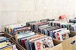 Comic books on market stall Stock Photo - Premium Royalty-Free, Artist: Raymond Forbes, Code: 614-03080712