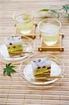 Mizorekan and green tea Stock Photo - Premium Royalty-Free, Artist: Robert Harding Images    , Code: 685-03081986
