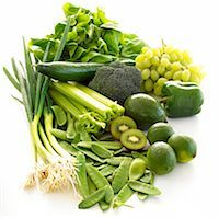 5 A Day - Green fruit and vegetables Stock Photo - Premium Royalty-Freenull, Code: 689-03124114