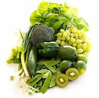 prevention - 5 a day - green fruits and vegies Stock Photo - Premium Royalty-Freenull, Code: 689-03124115