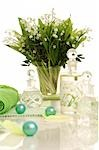 Bouquet of lily of the valley in the bathroom Stock Photo - Premium Royalty-Freenull, Code: 689-03124684