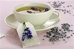 Lavender tea Stock Photo - Premium Royalty-Free, Artist: ableimages               , Code: 689-03125544