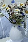 Bunch of Marguerites and corn flowers Stock Photo - Premium Royalty-Freenull, Code: 689-03130899