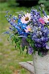 Blue bunch of flowers Stock Photo - Premium Royalty-Freenull, Code: 689-03131112