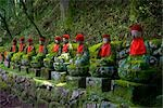 Buddha Statues, Nikko National Park, Kanto Region, Honshu, Japan                                                                                                                                         Stock Photo - Premium Royalty-Free, Artist: Daryl Benson             , Code: 600-03152239