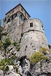 Saracen Tower, Cetara, Province of Salerno, Campania, Italy                                                                                                                                              Stock Photo - Premium Rights-Managed, Artist: Siephoto                 , Code: 700-03152358
